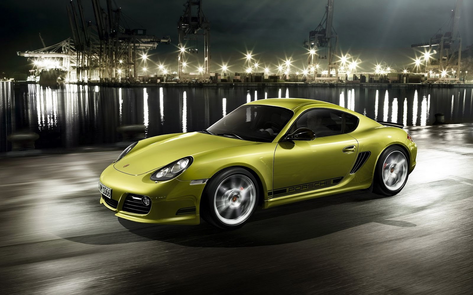 Green Porsche Wallpaper