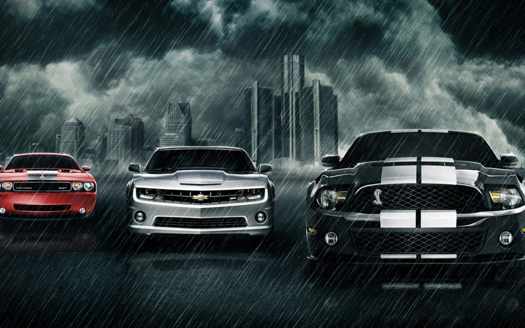 American Muscle Cars - Widescreen HD